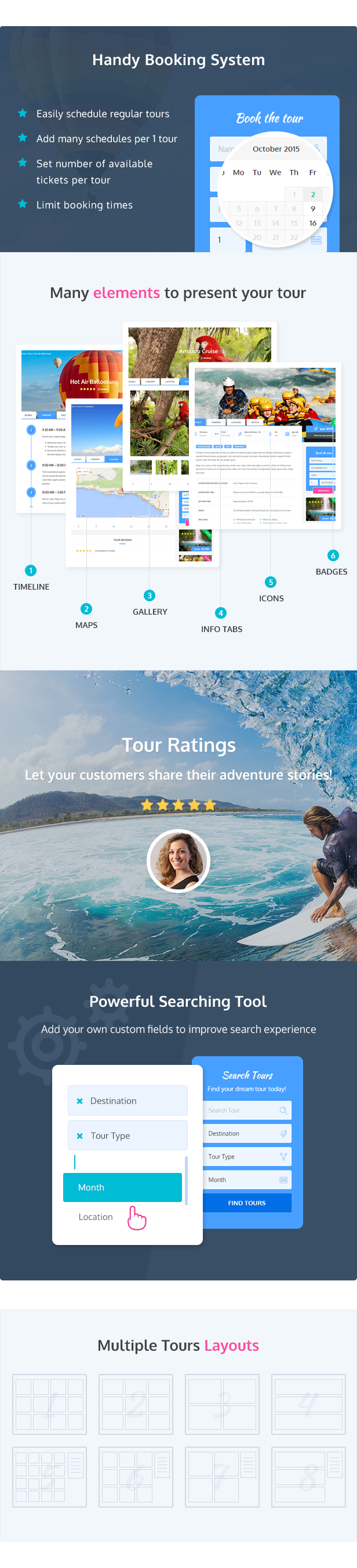 Adventure Tours - WordPress Tour/Travel Theme - 3